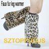 FASHION SEXY FAUX FUR LEG WARMERS