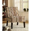 Solid wood leisure chair/ Accent,Decor Striped Print Lounge Chair