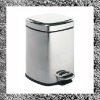 Square stainless steel dustbin 9042