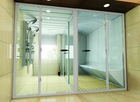 Acrylic steam bath room