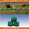iron barbed wire