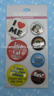 Promotional Tin badge(tinplate button badge)
