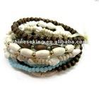 fashion wood beads bracelets, West style jewelry, promotion gift bracelet