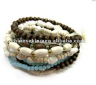fashion wood beads bracelets, West style jewelry, promotion gift bracelet