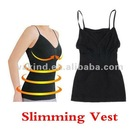 Black Color Weight Loss Fat Burning Slimming Vest Corset Body Shaper Chest UP