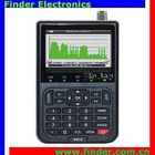 DVB-S2 Finder Meter with Real Time Spectrum Analyzer
