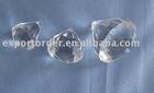 Acrylic diamond pendant