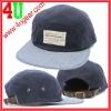 Two Tone flat brim custom 5-panel camp cap baseball cap
