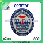PVC custom cup coaster/PVC cup mat for promotion