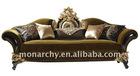 V605-3 monarchy wood carved furniture sofa set