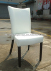 YC-F039 White Leather Elegant Dining Chairs