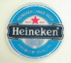 Promotional cheap beer coaster/ soft pvc coaster /OEM/small order is acceptable