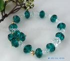 Crystal bead jewelry
