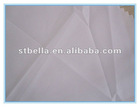white solid dyed T/C poplin fabric for garment