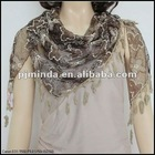 Winter faux for scarf lace triangle scarf
