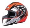 Hot New design Helmet Orange/Silver4#