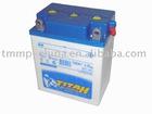 Motorcycle storage battery 6v 18ah[MT-0111-042B2],OEM quality