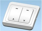 Roller shutter switch/Mannual shutter switch and receiver for roller shutter/roller window button
