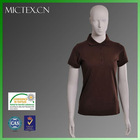 women bulk polo shirts cotton polyester short sleeves pique OEM (OEKO-TEX,ISO9001,SGS Certification)