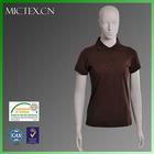 women bulk polo shirts cotton polyester short sleeves pique OEM (OEKO-TEX,ISO9001,SGS Certification)