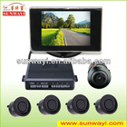 Camera Parking Sensors, Parking Assist Lines and 3.5-inch High-resolution TFT Monitor