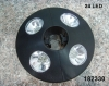 Battery Operated 24 Led Umbrella Light 195mm diameter