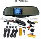 Rearview Mirror with parking sensor