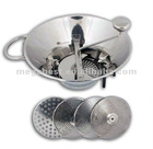 Stainless steel vegetable sieve (5 discs)