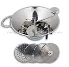 Stainless steel vegetable sieve (5 discs)