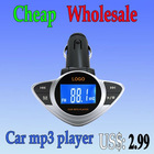 Wholesale Instructions car mp3 player fm transmitter usb