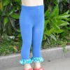 sequin ruffle leggings pants/sequin legging/lace leggings/girls leggings/baby tights