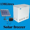solar power deep freezer