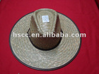 Hot sale Hawaii style cheap straw cowboy hats
