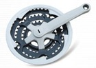 bicycle chain wheel & crank