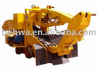 Mining Loader on rail base for metal ore mining like zinc led copper gold mining