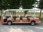 Automatic transmission 14 seats electric shuttle bus