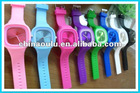 hot sell and cheap silicone Jelly watch