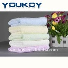2012 fashion plain dyed bamboo fiber hair towel