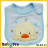 cotton baby bibs with embroidered