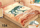 Heavy fleece printed winter blanket