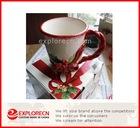 christmas ceramic cup