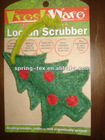 Kitchen Cleaning Scrubber be made of Loofah