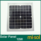 10 Watt Solar Panel Module charge 12V Battery, monocrystalline panel 10w