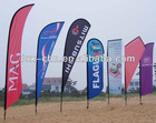 Cheap pole banner display