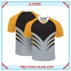 Promotional fashion pattern football uniforms SJ5058