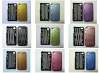 Factory Price Mesh Aluminum built flannel Mobile Phone Case for iphone 4G