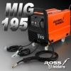 AMP GAS GASLESS WELDER 15 AMP PLUG (MIG195)