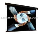 Tab-Tensioned Projection Screen