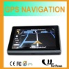MTK 5 inch touchscreen gps sirf atlas iv gps navteq maps with av-in bluetooth optional