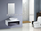 Hanging High gloss MDF bathroom cabinet